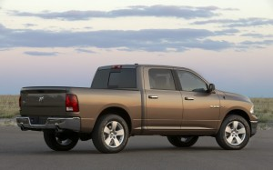 2009_lone_star_edition_dodge_ram_1500_rear