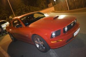 Red Mustang KOSS