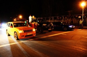 Jeep Grand Cherokee SRT8 Hemi Orange