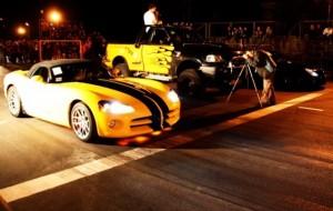 Dodge Viper vs Mercedes CLS Klemann