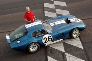 Shelby Daytona Coupe CSX2601 и Bob Bondurant