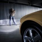 Car and Girl фото Mustang расстрел