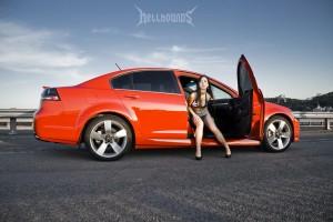 Car and Girl фото Pontiac G8