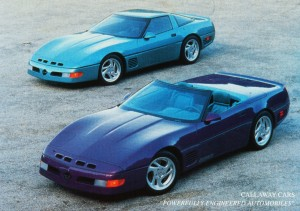 Callaway Twin-Turbo Corvette (Coupe & Convertible)