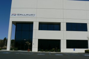 Callaway office in Corona, CA