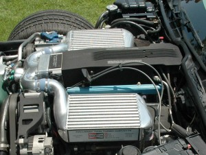 callaway twin turbo corvette engine L98