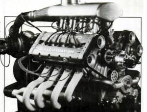Callaway HH V8 Indycar Engine