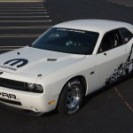 2011 Dodge Challenger Drag Pak.  Mopar is dropping a V-10 into t