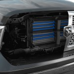 2013 Ram 1500 is the first truck to employ an active grille shut